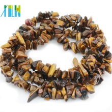Tiger Eye Nuggets Gemstone Jewelry Natural Chips Stone Beads