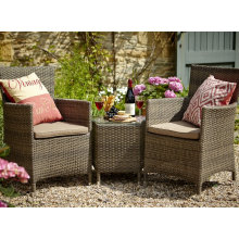 Outdoor Rattan Balcony Set Garden Wicker Patio Furniture