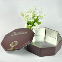 Custom Embossed Tin Box, Tin Cans for Men, Tin Boxes