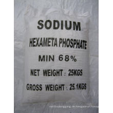 68% Industrie- / Lebensmittelqualität Natriumhexametaphosphat (SHMP)