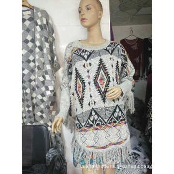 2017 Winter Stock High Quality Pashmina Shawl Wraps Warm Design Women knitted Pashmina Winter Poncho