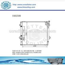 Алюминиевый радиатор для TOYOTA FJ CRUISER 07- 03-06 4 RUNNER 1640031350/1640031351/1640031461 Производителя и прямая продажа
