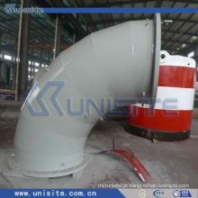 Tubo de aço soldado de parede dupla de alta pressão para draga (USC-6-001)