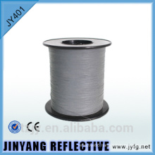 double coated reflective waving thread for clothing