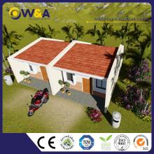 (WAS1005-36D) Chine Maison préfabriquée encadrée en acier avec station de transfert de fret
