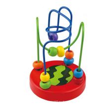 2016 Новое прибытие Baby Mini роликовые каботажное судно из бисера Maze Toy
