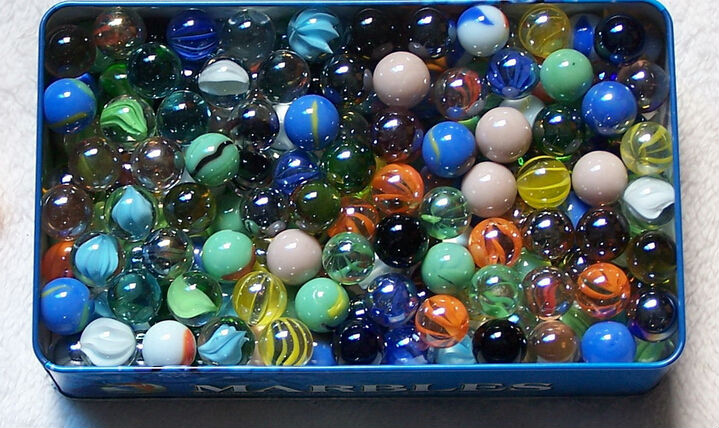 Hand Made Glass Marbles