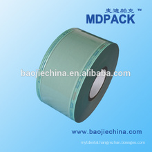Sterile transparent composite film roll for packaging