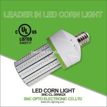 UL / CUL listado milho luzes led 30W E26 / E39 base de poupança de energia e super brilhante 5 anos de garantia