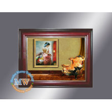 wooden 10.4 inch digital photo frame