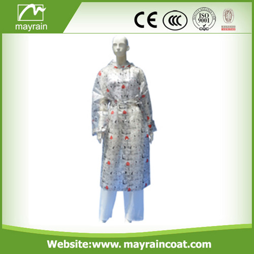 PVC Raincoat for Women
