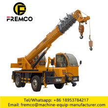 12 Ton Homemade Mobile Crane Truck with Wheel