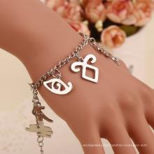 Bone City Alphabet Bracelet Fashion Character Jewelry