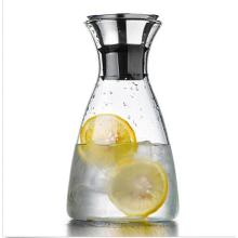 Home Dining Clear Glass Water Pitcher Boissons Juice Coffee Jug Container
