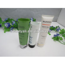 green metal cosmetic packaging tubes