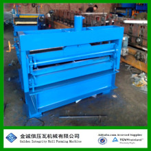 Leveling shearing machine