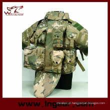 OTV corpo armadura transportadora colete tático Airsoft impermeável Vest