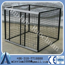 Baochuan-- wholesale big wire mesh the powder coated dog kennel