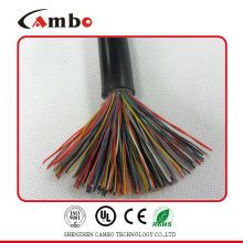 high quality 26awg 0.411mm Bare copper cat.5e outdoor telephone cable 100pair OEM/ODM for telecom
