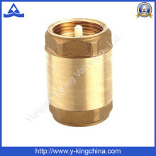 Plastic or Brass Core Brass Spring Check Valve (YD-3001)