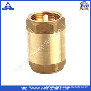 Plastic or Brass Core Brass Spring Check Valve (YD-3001)