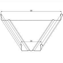 Máquina de curvar de panel de costura permanente