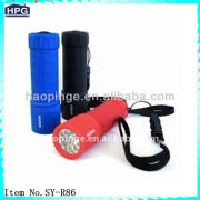 9LED use 3xAAA battery Plastic Led Flashlight