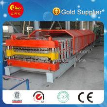 Máquina para fabricação de chapas duplas de aço de qualidade para exportação