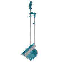 Fabricante al por mayor de limpieza de plástico limpiador y sistema de cepillo mango largo