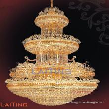 Antique chandelier crystal pendant light vintage iron chandelier