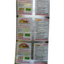 Película de empaquetado del insecticida plástico / película de empaquetado del pesticida