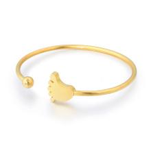Bracelete fino fêmea da mola do bracelete de aço inoxidável da forma alta