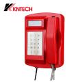 Wetterfestes robustes Telefon VoIP-Telefon Knsp-18LCD von Kntech