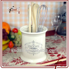 french style ceramic Kitchen utensil holder