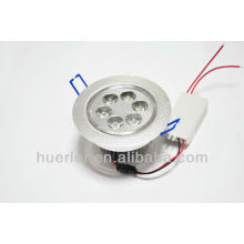 Huerler AC85-265v 90-100lm / w 95mm haute qualité led downlight 6w
