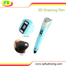 Semi-Automatic Handheld 3D Printing Drawing Printer Pen