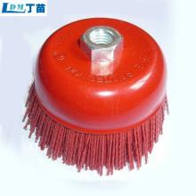 escova de roda abrasiva para eliminação de poeira de alta qualidade