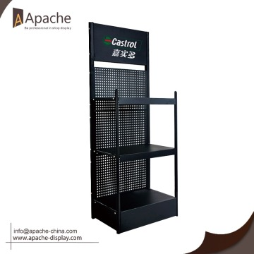 Customized Decorative Demountable shelf organizer display rack Modern metal shelf