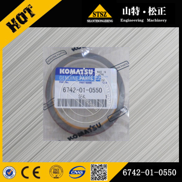 Komatsu parts PC300-7 seal escavadeira 6742-01-0550