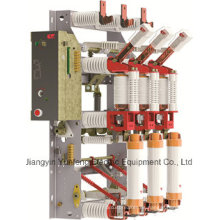 Yfr16b-12D/T125-31.5j-interruptor de rotura de carga de alto voltaje con cuchilla de puesta a tierra