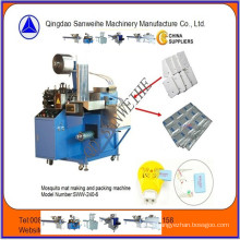 Mosquito Mat Automatic Liquid Injecting and Packaging Machine