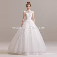 Новые Поступления 2016 Бальное Платье Дизайнеров Бисером Милая Свадебное Платье