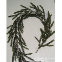 PE Link Spruce Fir Garland Artificial Plant for Christmas Decoration (42674)
