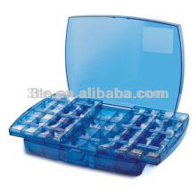 Piezas de plástico del marco de gafas Caja de herramientas