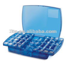 Peças de armação de óculos de plástico caixa de ferramentas