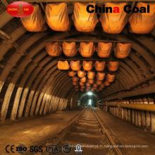 Arches en acier adaptées aux besoins du client de type U pour le support secondaire de Laneway de mine