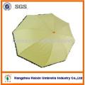 Precioso diseño marca colores brillantes Pongee Kids hongos Apollo paraguas con logotipo