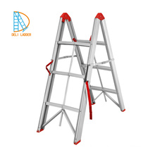 foldable step ladder small household aluminum telescopic step ladder