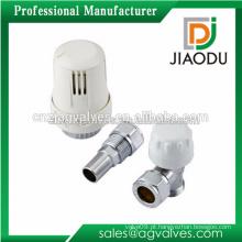 Venda quente Taizhou fabricação 1/2 '' 3/4 '' 1 '' ou 2 '' cw617n latão válvula termostática chão aquecimento