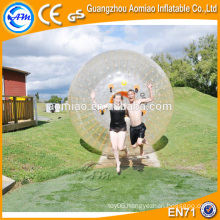 Greatest fun PVC/TPU inflatable human hamster ball kids zorb ball on sale